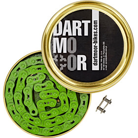 "DARTMOOR Core Bicycle Chain 1/8"" green"